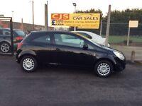 Vauxhall corsa 1300 cdti diesel 3 door 2011 one owner 58000 fsh full year mot £30 year pad tax
