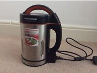 Morphy Richards soup maker 1.6l capacity used once