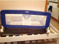 Blue Tomy bed guard £10