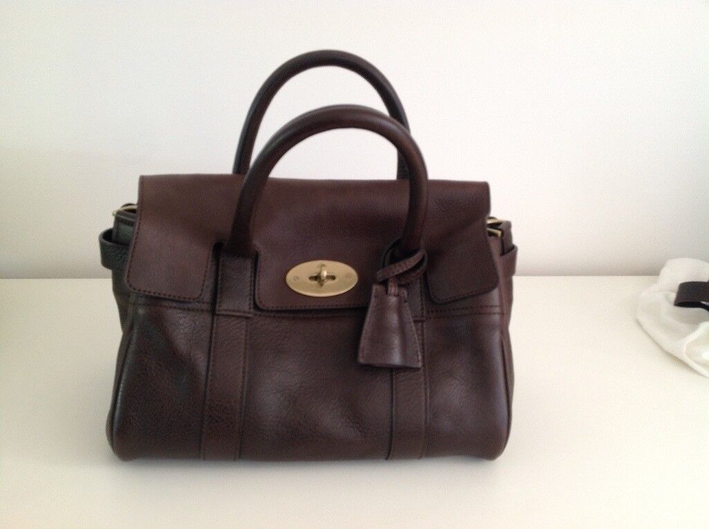 1df2a0261c ... low price mulberry small bayswater handbag in chocolate. nearly new and  in excellent condition.