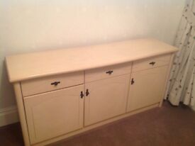 Sideboard for sale, ash wood colour