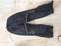 Motorbike jeans/Trouser by Wolf fully waterproof reduced!!!!!!!!