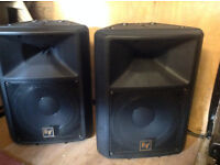 For sale. A pair of EVsx200 speakers and covers. Unused for years and in very good condition.
