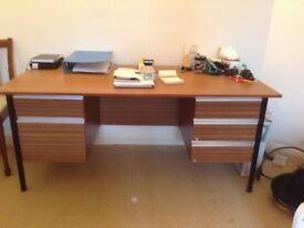 large office desk free to collector