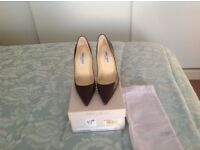 Jimmy choo shoes size 4 chocolate colour