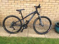 Youths specialised moutain bike hard rock size 13
