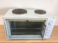 Essential mini oven, grill & hotplates