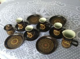 Denby/Arabesque Tea/Coffee Set