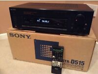 Sony amplifier with radio tuner