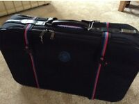 "MARCO POLO LIGHTWEIGHT SUITCASE WITH TWO WHEELS 27"" X 18"" X 8"" at widest point"