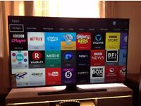 "SAMSUNG 48"" Smart 4K ULTRA HD TV - UE48JU6400,built in Wifi,Freeview HD,NETFLIX,Excellent condition"