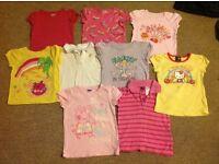 Girls age 3 t-shirt bundle (9)