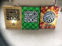 Guinness World of Records and Ripleys Annuals