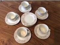 5 piece tea set