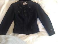 Karen Millan black short jacket.