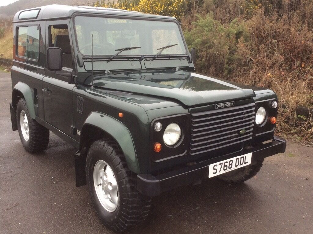 Land Rover Defender 90 County 7 Seat Station Wagon 1998