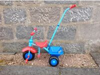 Thomas The Tank Toddler Trike with Push Handle (New Never Used)
