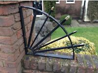6 Wrought Iron Decoration Corner Spikes for Wall 'finishing'