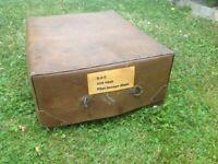 World War Two RAF map box.