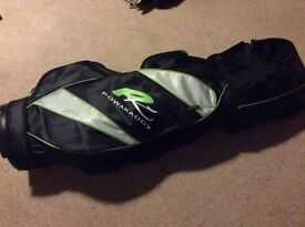Powakaddy Lightweight Golf Bag, as new condition.