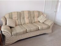 2 Matching Sofas for sale - 3 seater and 2 seater