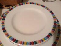 Porcelain 12peice dinner set