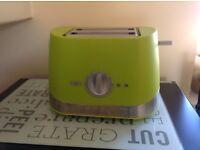 Green Sainsburys Toaster