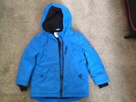 Boys blue coat, age 4-5