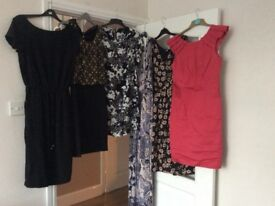 Job lot of women's size 12dresses. 11 dresses in total.