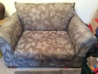 Marks & Spencer love seat / small sofa / large armchair