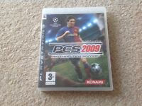PLAYSTATION GAME PES2009 Evolution soccer