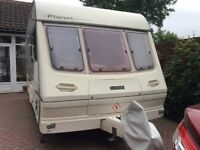 Lunar Planet Carina 19975 including full awning with end bedroom and many accessories ready to go