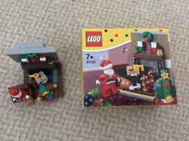 Lego 40125 Santas visit - complete set with box / instructions