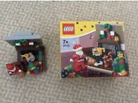 Lego 40125 Santas visit - complete set with box / instructions