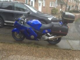 Great bike, genuine mileage. Full service done at 16,00 miles. service history. Very good condition.