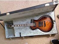 ESP E-II ECLIPSE QM DBSB Electric Guitar (Amazing Condition)