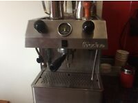 Fracino coffee machine and grinder