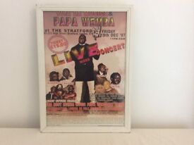 Framed pictures Papa Wemba, Dance and Music