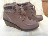 Monsoon Ladies Suede Boots