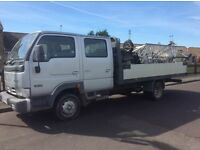 54 plate Nissan Cabstar pick up , long MOT