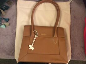 Brand new radley brown long handle bag with tags