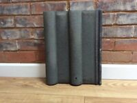 FREE, 24 concrete roof tiles, Marley double Roman, never used