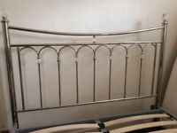 Dreams King Size Silver Bed Frame