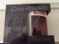 Brand New Boxed Game of Thrones Mug
