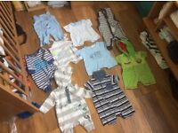 Unisex baby clothes size 0-3 months