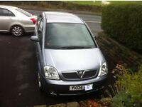 Vauxhall Mervia 2004 1.6. 5 dr. Mot Feb 2016. Sale due to bereavement. Very good condition for year