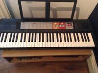 Yamaha PSR-F50 digital keyboard