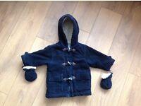 Winter coat, 9-12 months