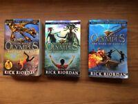 Heroes of Olympus, 3 books.