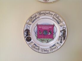 Collectible miners plates